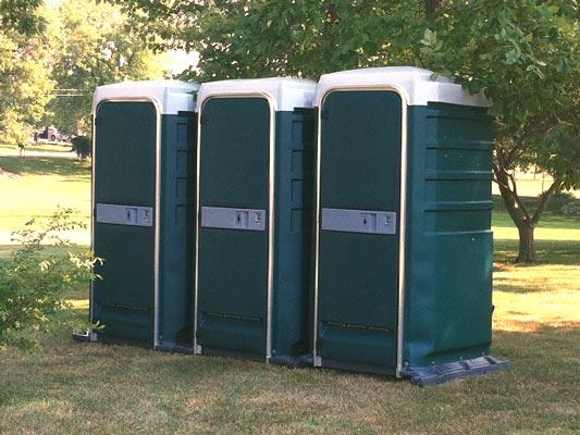 Green VIP Portable Toilets