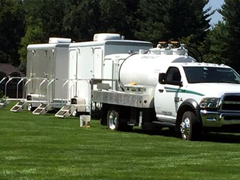 Portable Toilet Trailer Rentals for Weddings & Special Events