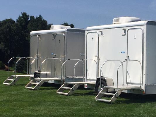 Air Conditioned Toilet Trailers